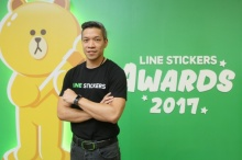มาดูกันใครได้บ้าง!! รางวัล LINE STICKERS AWARDS 2017 LINE ประเทศไทย ฉลองครบรอบ 3 ปี